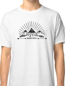 Mountains Classic T-Shirt