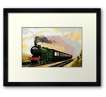 The West Riding Pullman in the early 1900s Framed Print
