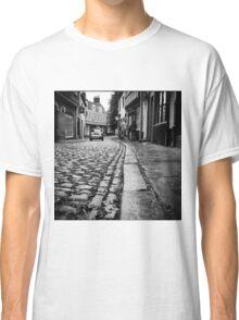Wet Cobbles- Norwich in the rain Classic T-Shirt