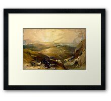 Site of Cana, Galilee, 21st April 1839 - all products Framed Print