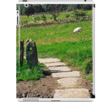 Ancient Stone Gate Posts, Upper Booth iPad Case/Skin