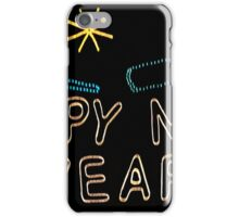 Happy New Year to all of our Redbubble friends and family! iPhone Case/Skin