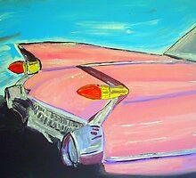 Pink Cadillac by gillsart