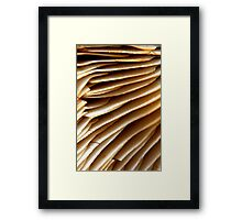 Plums & Custard Framed Print