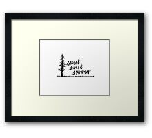 Sweet, Sweet Summer Framed Print