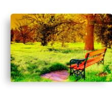 Enjoy Your Time Canvas Print