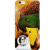 Hen and Drake - Mallard Down iPhone Case/Skin