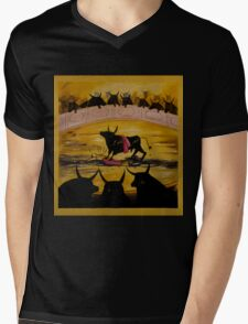 And The Crowd Goes Wild  Mens V-Neck T-Shirt