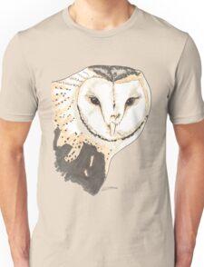 Spirit of Owl - Shamanic Art Unisex T-Shirt