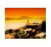 Hong Kong Ocean World Art Print