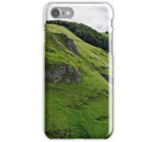 Cave Dale from Peveril Castle iPhone Case/Skin
