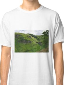 Cave Dale from Peveril Castle Classic T-Shirt