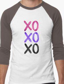 Beautiful XO's  Men's Baseball ¾ T-Shirt