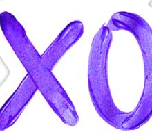 Beautiful XO's  Sticker