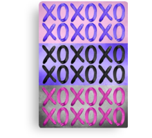 Beautiful XO's  Canvas Print