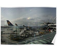 Frankfurt Flughafen Poster