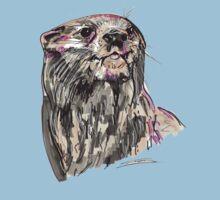 Spirit of Otter - Shamanic Art by Iank-as14