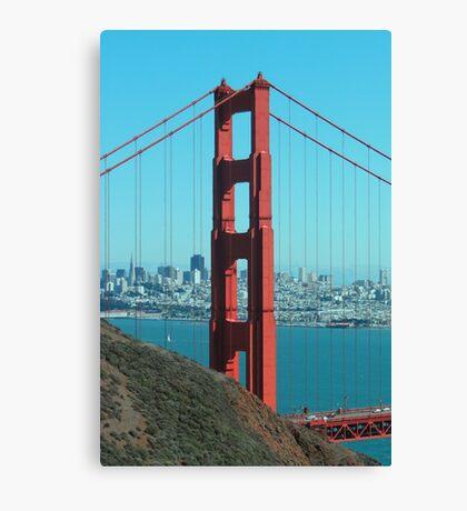 Golden Gate Bridge - North Side Canvas Print
