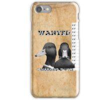 Wanted Duck - Mallard Down iPhone Case/Skin