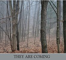 They Are Coming by joan warburton