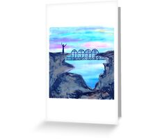 Bridge to Unbelievers by Gretchen Smith Greeting Card