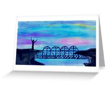 Bridge to Unbelievers by Gretchen Smith April 2008 Greeting Card