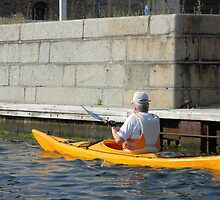 Kayaking on the Canal by Kathleen Brant