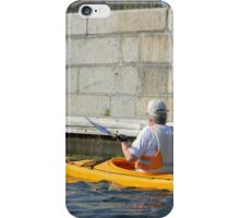Kayaking on the Canal iPhone Case/Skin