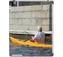 Kayaking on the Canal iPad Case/Skin