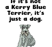 If It's Not A Kerry Blue Terrier by kwg2200