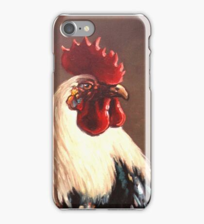 Rooster - Portrait iPhone Case/Skin