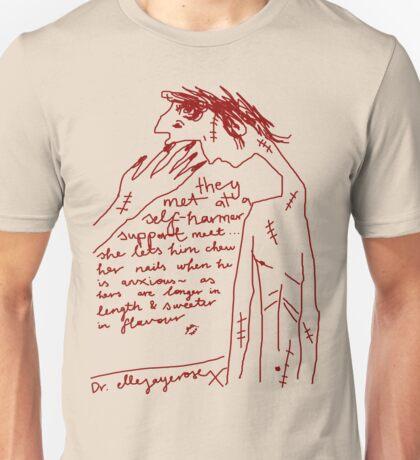 'Self-Harmer Support' Unisex T-Shirt