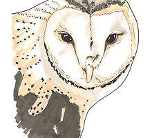 Spirit of Owl - Shamanic Art by Iank-as14