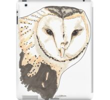 Spirit of Owl - Shamanic Art iPad Case/Skin