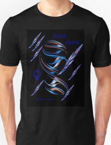 Earth Spirit - blue T-Shirt