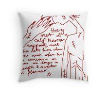 'Self-Harmer Support' Throw Pillow