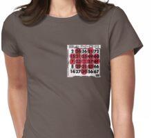 BINGO Heart Womens Fitted T-Shirt