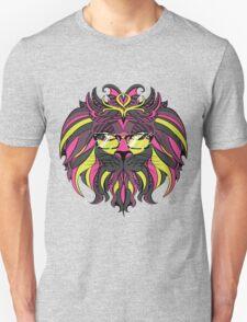 Lion Hipster 4 Unisex T-Shirt