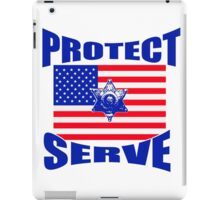 Protect and Serve  iPad Case/Skin
