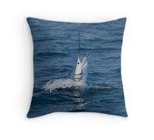 Pacific Sailfish Throw Pillow