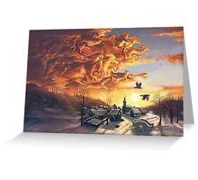 The wild hunt Greeting Card