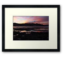 End of Today Framed Print