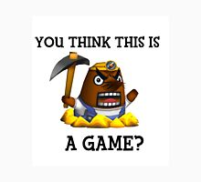 Resetti - You think this is a game?  Unisex T-Shirt