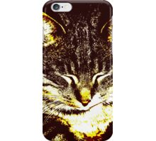 Stylized cat iPhone Case/Skin