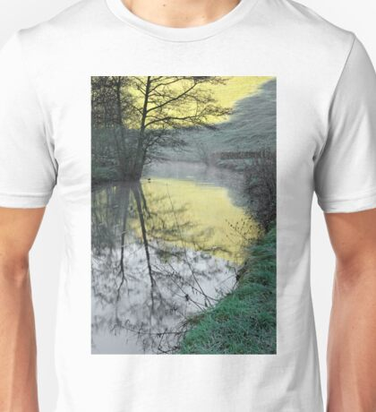 Reflections of Fishpond Bank Unisex T-Shirt