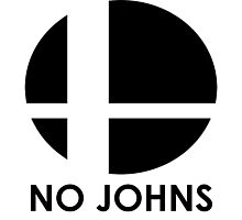 No Johns  Photographic Print