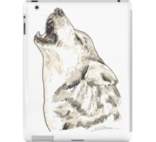 Spirit of Wolf - Shamanic Art iPad Case/Skin