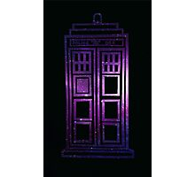 Galaxy TARDIS Photographic Print
