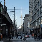 Berlin Streets I, colour by Janis Möller
