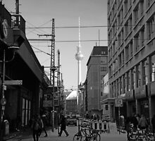Berlin Streets I, b/w by Janis Möller